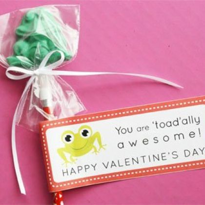 Disney Valentine Crafts