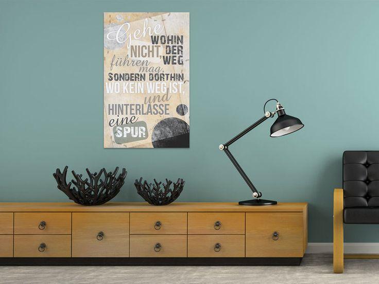 52 besten Sprüche für die Wand Bilder auf Pinterest Sprüche für - wanddeko für wohnzimmer
