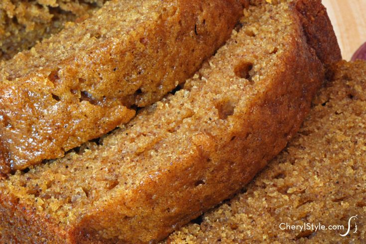 Mom's best pumpkin bread recipe