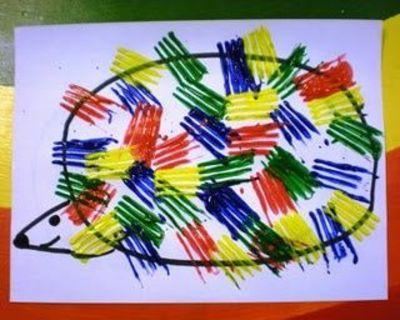 Hedgehog! Preschool idea