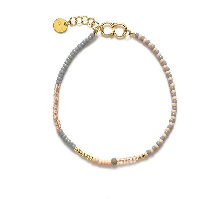 ANNI LU MESS bracelet / grey 300,-