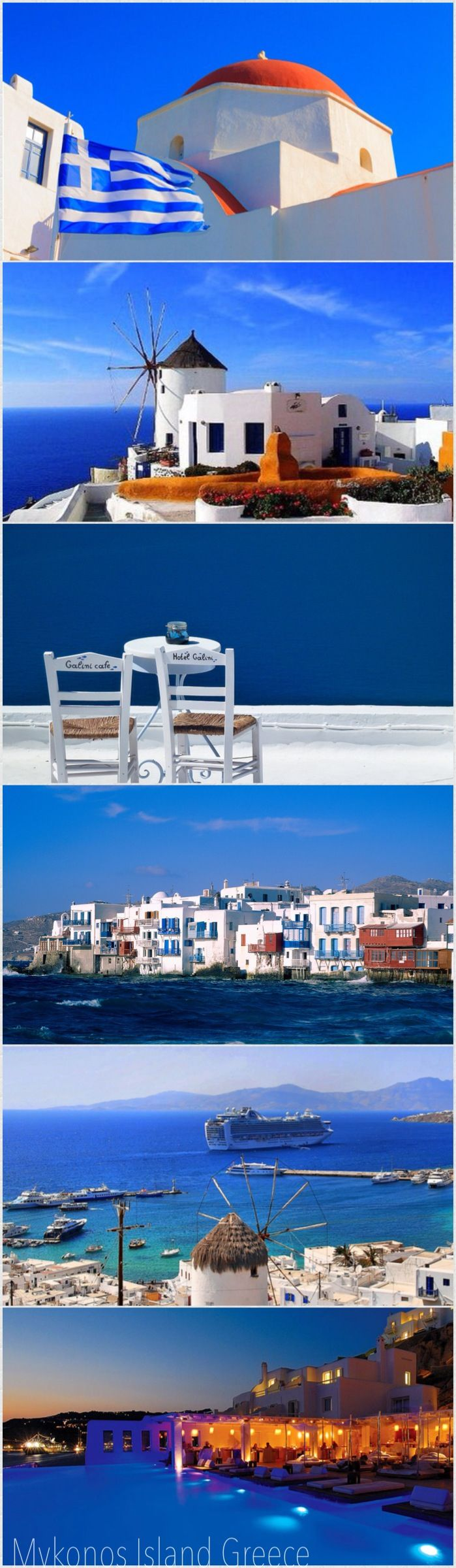 Mykonos Island, Cyclathes,Greece