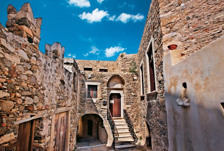 Castle of Naxos,Cyclades,Greece