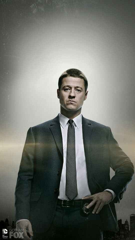 Gordon #Gotham Benjamin McKenzie
