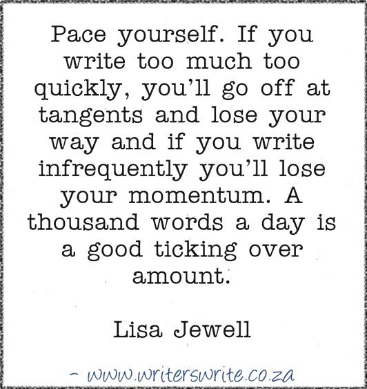 Quotable – Lisa Jewell – Writers Write