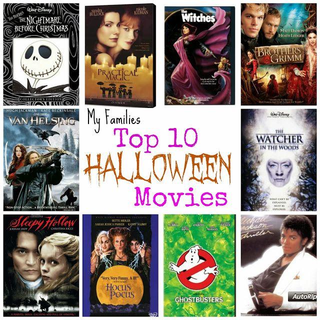 My Families Top 10 Halloween Movies