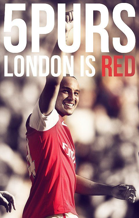 Arsenal 5-2 Tottenham Hotspurs Tottenham is my second favourite team.....ARSENAL http://#1