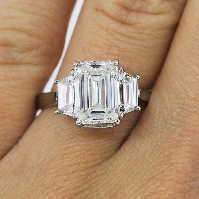 Pin On Emerald Engagement Rings