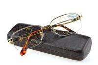 GOLD Progressive Multifocal Reading Glasses Mens Gold See Near Far Ultra Light Alloy Intelligence Add +1 +1.5 +2 To +4