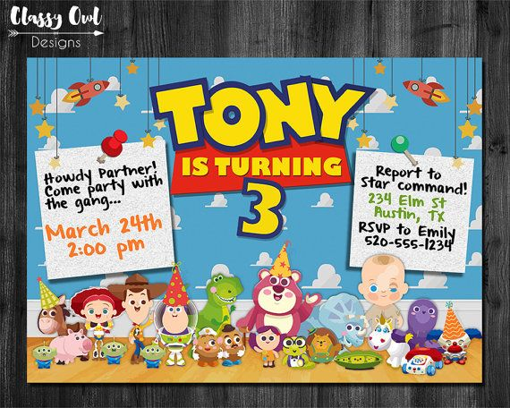 best toy story birthday party images on   toy story, Baby shower
