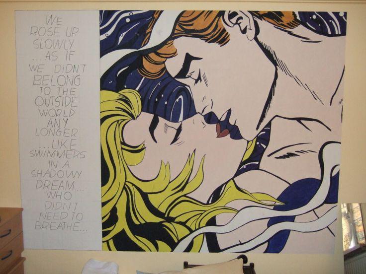 Lichtenstein Mural by Andrea Haandrikman