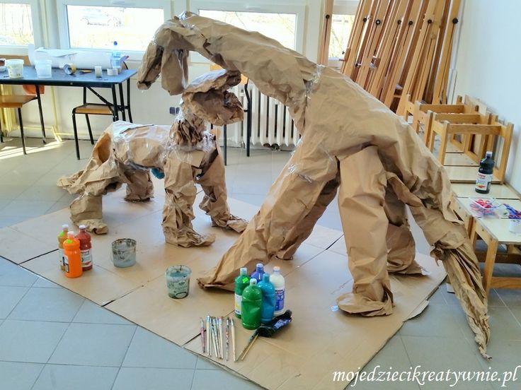 Dinozaury z papieru