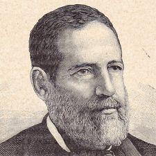 Portrait Evaristo Carazo Aranda Presidente de Nicaragua Rivas