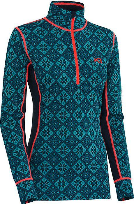 Kari Traa Rose 1/2 Zip Top - Women's Ski Clothing - Base Layers for Women