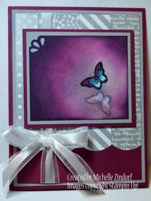 small butterfly card by Michelle Zindorf