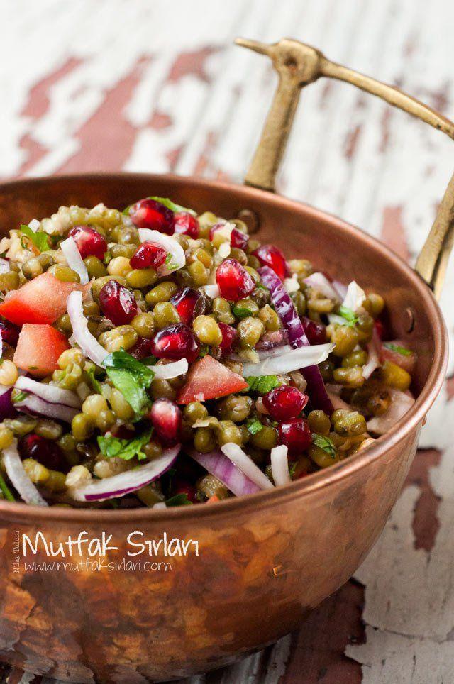 Maş Fasulyesi Piyazı Tarifi | Mutfak Sırları