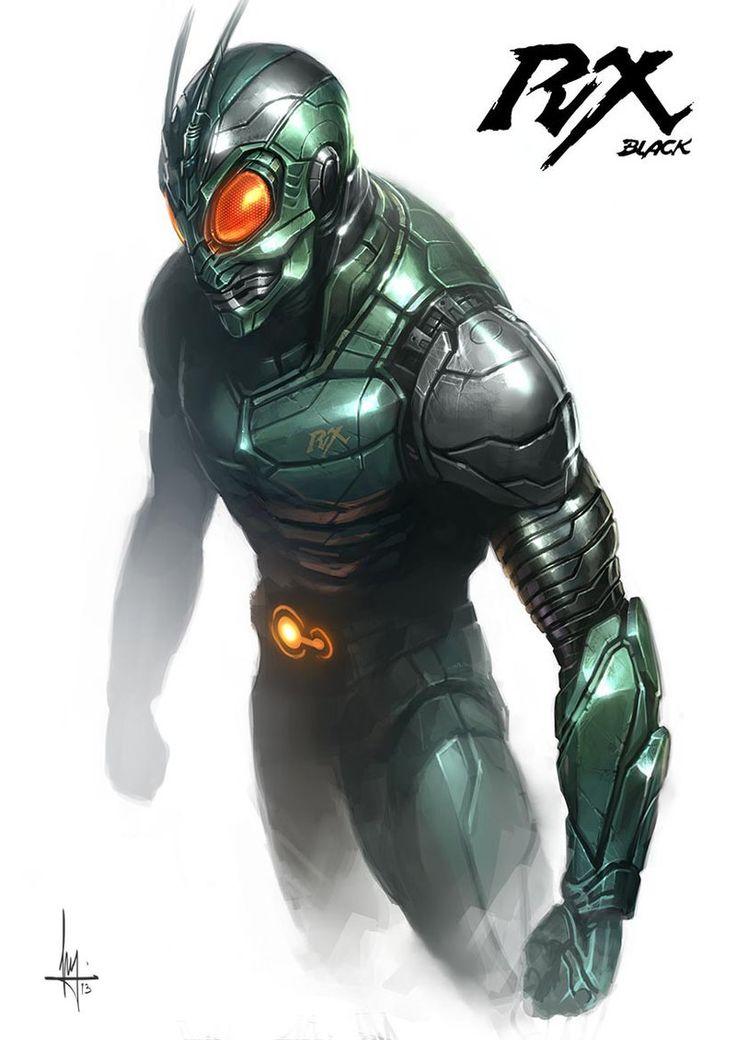 Kamen Rider RX Black by Linggar Bramanty