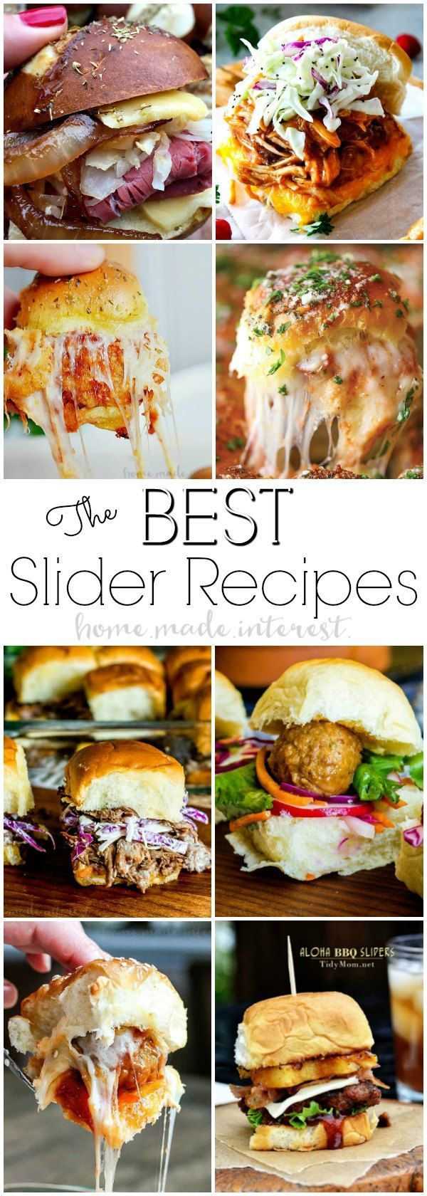 Best Slider Recipes | This is the ultimate guide to how to make sliders or pull apart sandwiches, along with some of the best slider recipes ever! These slider recipes are the perfect football food and tailgating recipes. Amazing slider recipes for a Super Bowl party! Make these slider recipes as a make ahead party appetizer or a quick and easy weeknight dinner.