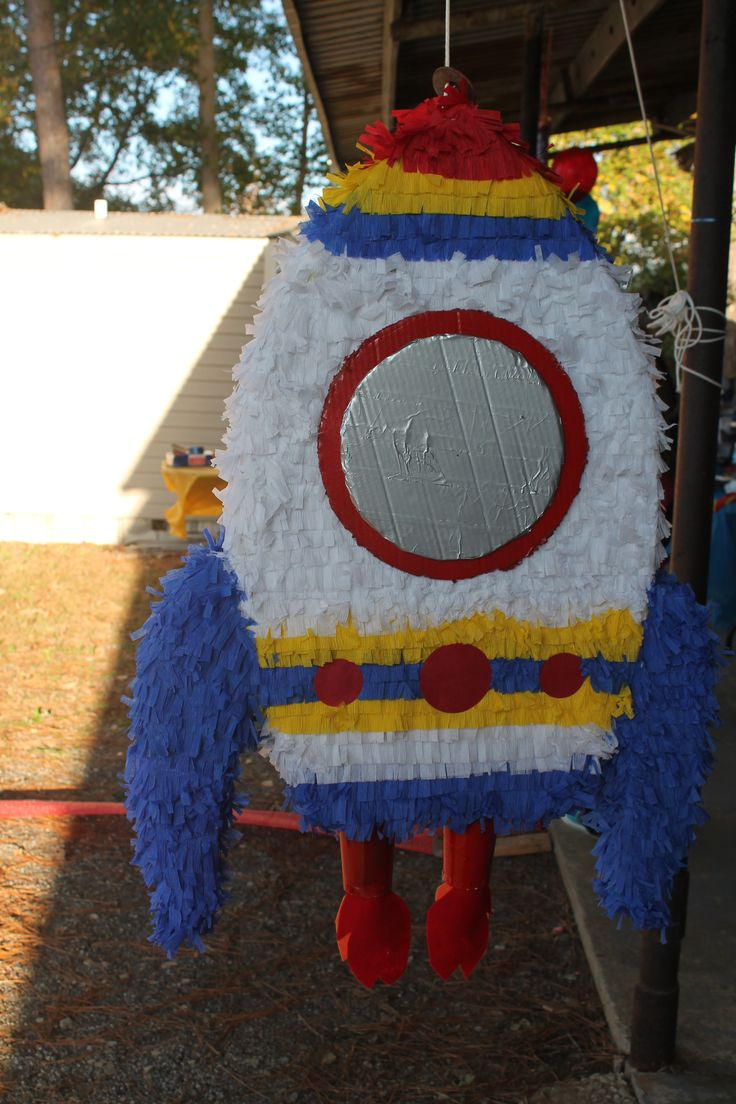 Rocket Ship Pinata | My Creations | Joint birthday parties ...