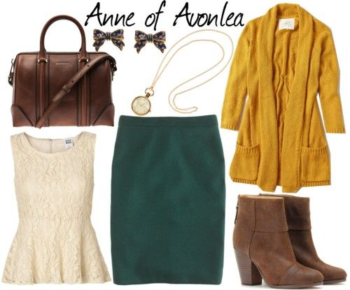 Anne of Avonlea Inspired Outfit except without the necklace