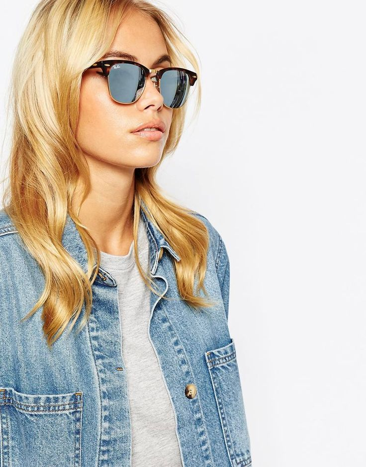 Image 3 ofRay-Ban Mirror Clubmaster Sunglasses
