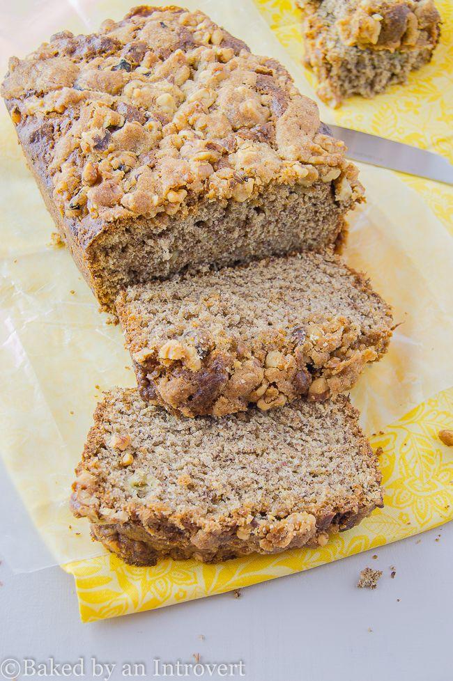 Banana Flax Seed Bread on MyRecipeMagic.com