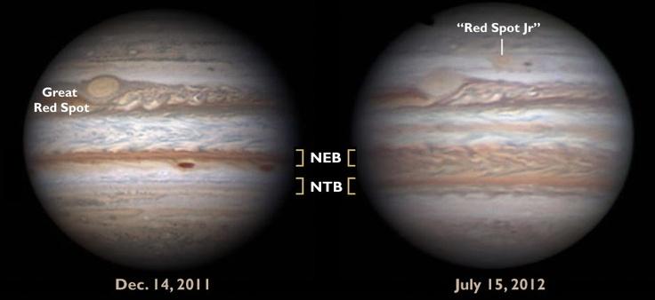 Changing face of Jupiter