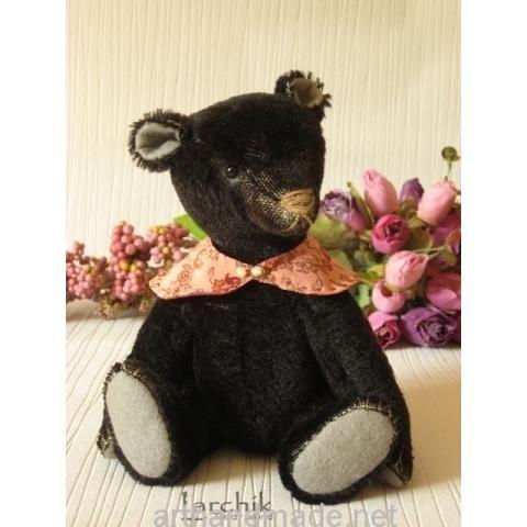"Bear ""Charlie Kid"". Author Larisa Oshmyanskaya - http://arthandmade.net/oshmyanskaya.larisa Teddy, bear, teddy bear, toy, collectible toy, gift, original gift, teddy artist, handmade, craft, тедди, мишка, мишка тедди, игрушка, коллекционная игрушка, подарок, оригинальный подарок, художник, ручная работа"