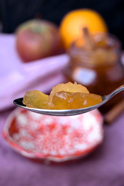 szczypta smaQ: Jabłka karmelizowane na zimę