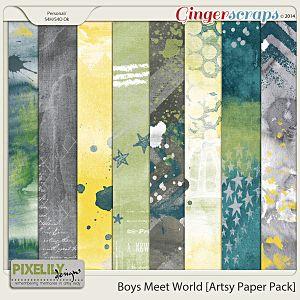 Boys Meet World [Artsy Paper Pack]