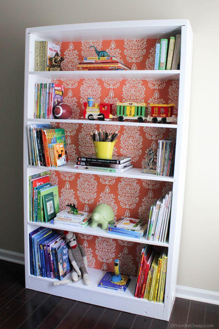 Do It Yourself Bookshelf Ideas: Best 25+ Bookshelf Makeover Diy Ideas On Pinterest