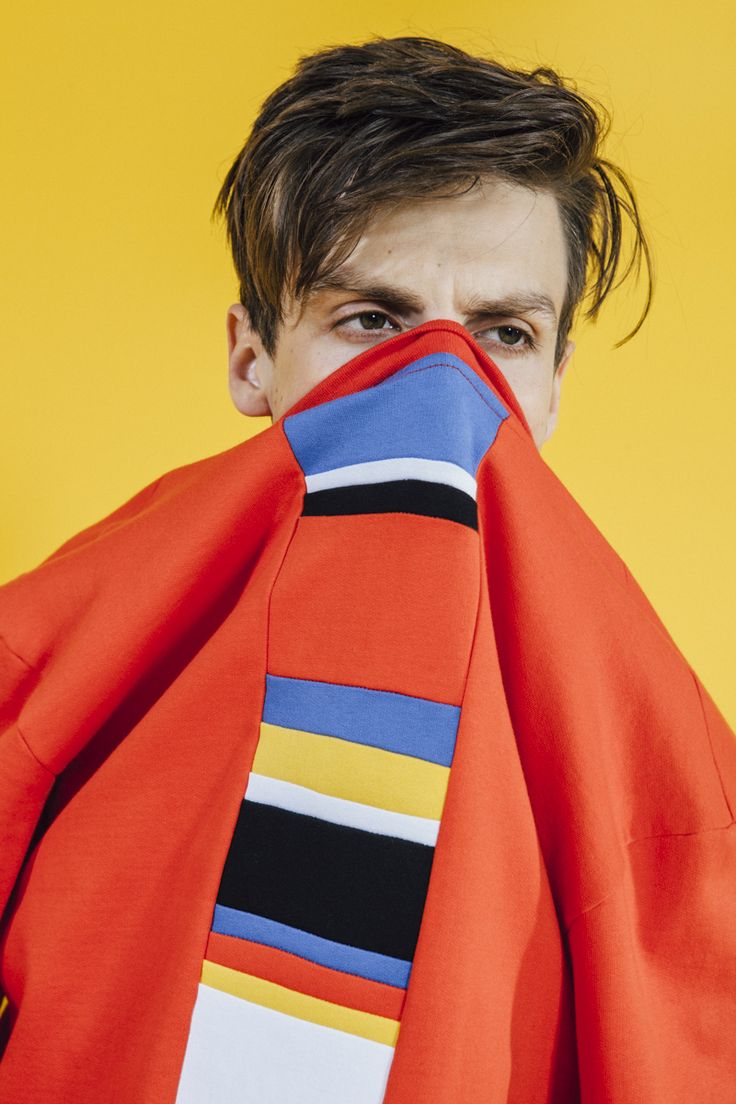 We Are Selecters · Sweater Red With Multicolored Stripe by Yes, Boy