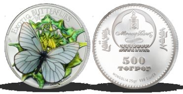 Každoročně vyprodaná mince s 3D motýlem byla vyražena z ryzího stříbra 999/1000 v nejvyšší mincovní kvalitě - leštěným razidlem. Vyjímečnost numismatu je podtržena přísnou limitací pouze 2500 kusů pro celý svět!