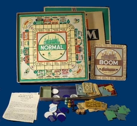 Boom or Bust 1952: Vintage Games Game, Games People, Board Games, Table Top, Games Game Boards, Bust 1952