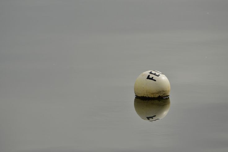 White Buoy by Tomislav Vucic on 500px #fineart #reflection #water