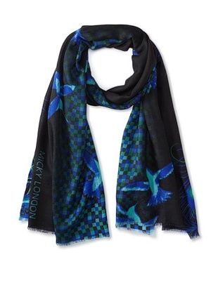 67% OFF Micky London Women's Cashmere Skyfall Scarf, Multi