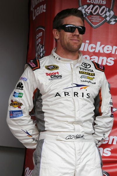 Carl Edwards Pictures - NASCAR Sprint Cup Series Quicken Loans 400 - Zimbio