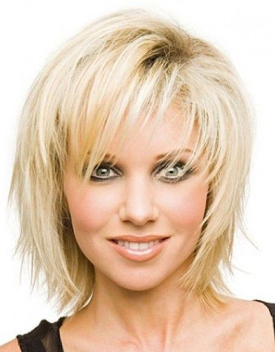 25 coole Frisuren für feine Haare Frauen