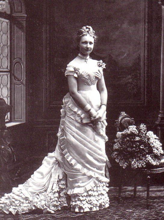 Wedding Dresses  Belgium : Wedding dress of princess st?phanie belgium when she