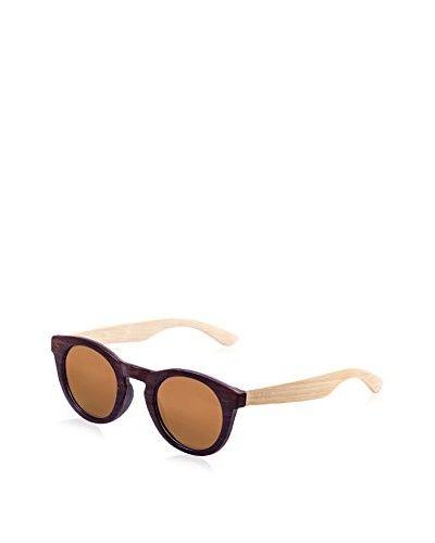 Ocean Ski Sonnenbrille Polarized San Francisco Wood (40 mm) dunkelbraun ()