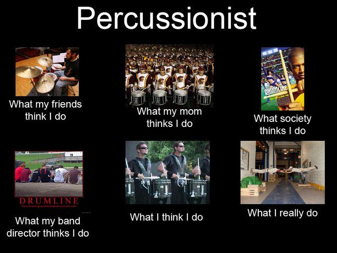 percussion @Ben Rodney, it this true?? XD