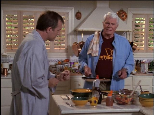 peter graves 7th heaven | Peter Graves/John The Colonel Camden - Sitcoms Online Photo ...
