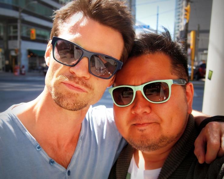 Daniel Gillies and me.