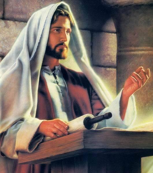 Jézus a zsinagógában