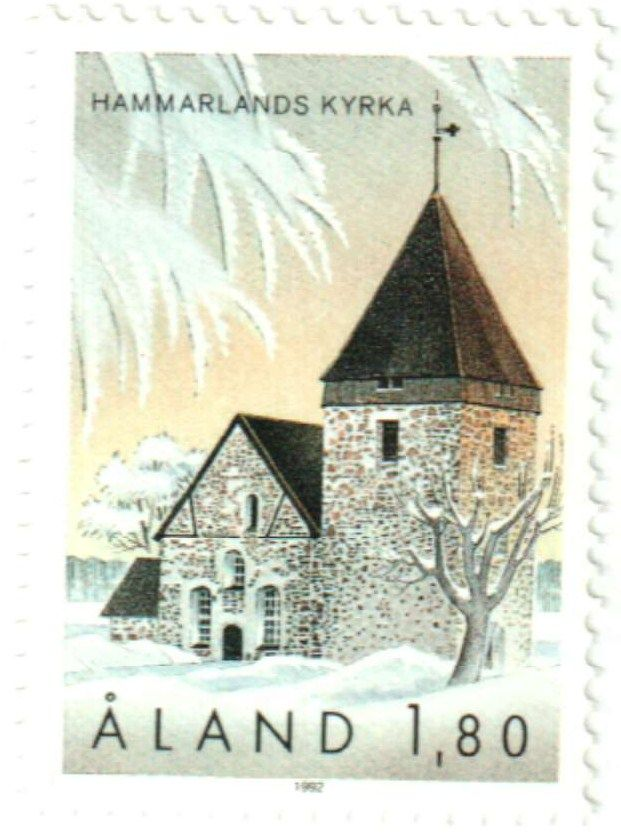 1992 Aland Islands Stamp