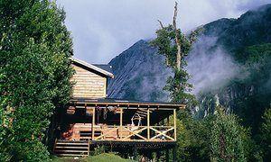Refugio Cochamó (Cochamó, Chile).