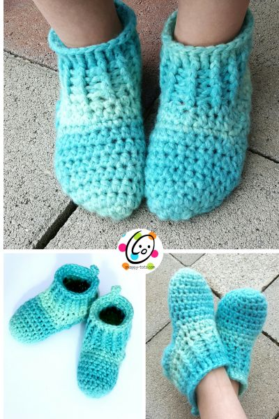 Baby Girl Bedroom Slippers: 289 Best Botas Y Pantuflas Tejidas Images On Pinterest