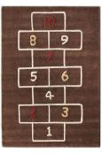 wow - so many rugs, so little time. and lots of other shwag, too. . . Rugs USA Cradle Hopscotch
