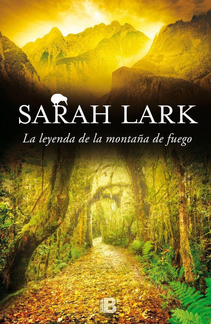 """""""Trilogía del Fuego"""" Sarah Lark. 1ª parte, La estación de las flores en llamas. 2ª parte, El rumor de la caracola. 3ª parte, La leyenda de la montaña de fuego."""