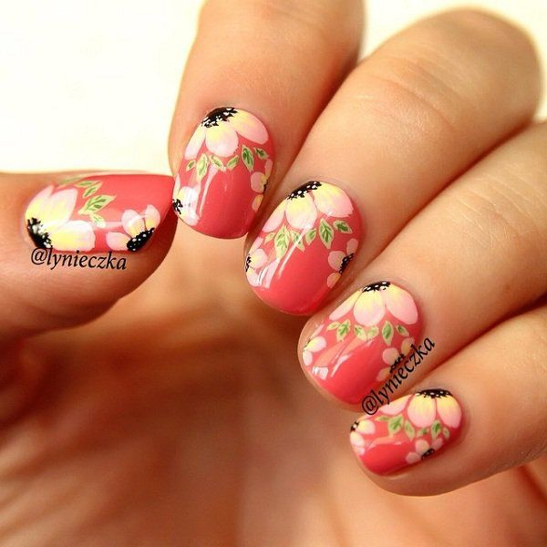 Pretty Summer nail art - 600